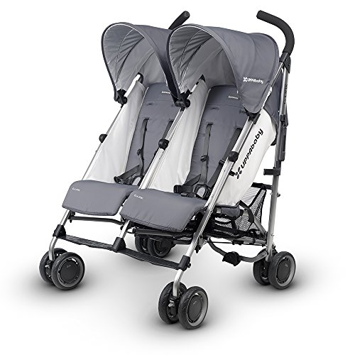 UPPAbaby G-LINK Stroller, Pascal (Grey) by UPPAbaby