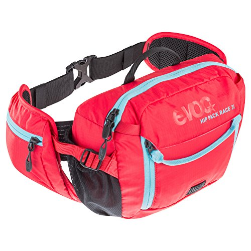 (Evoc Hip Pack Race 3L with 1.5L Bladder red )