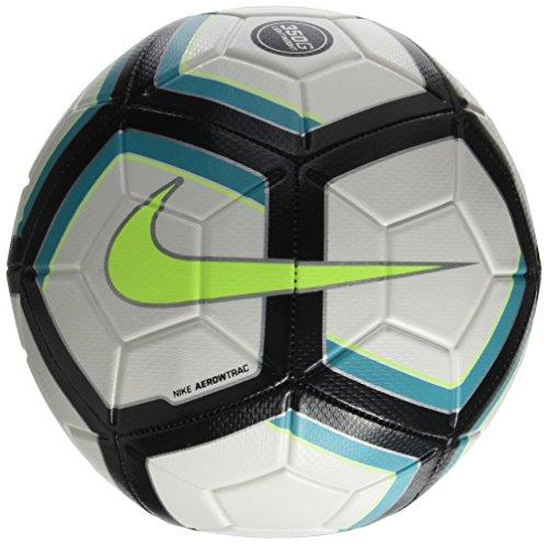 - Nike Strike Team Lightweight Ball (White/Black/Turquoise/Volt) (5)