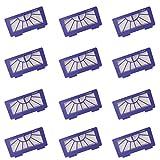 I-clean Replacement Neato XV Signature Pro Filters[12PACKS] for Neato Robotics XV 21, XV 12,XV 11,XV 14