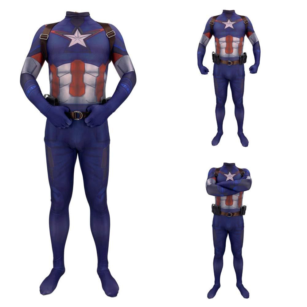 YXIAOL Disfraz De Superhéroe del Capitán América, Disfraz De ...