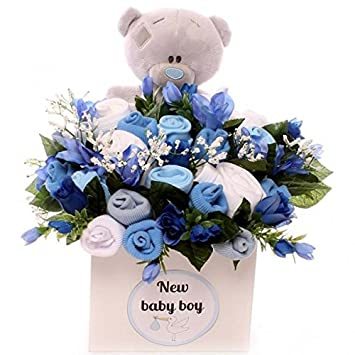6240410b1340 Baby Clothing Bouquet With Pyjamas Baby Girl