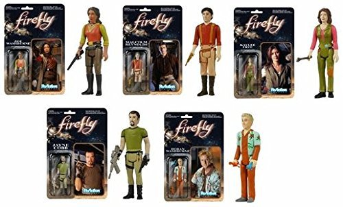 Firefly (Set of 5) Funko ReAction 3 3/4-Inch Retro Action Figure