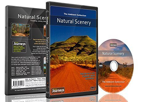 Fitness Journeys - Natural Scenery, for indoor walking, treadmill and cycling workouts