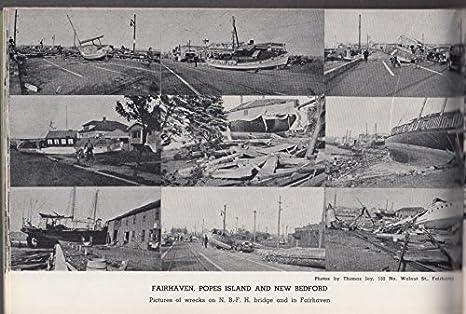 1938 Hurricane & Flood Pictures New Bedford Massachusetts