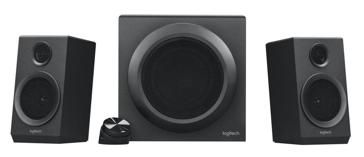 Logitech Z333 2.1 Canali 40W, Nero, Set di altoparlanti, Universale, Stand-alone, jack da 3,5 mm, RCA) 2229701