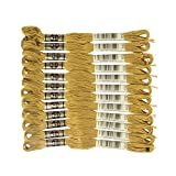 DMC 6-Strand Embroidery Cotton Floss, Golden Olive