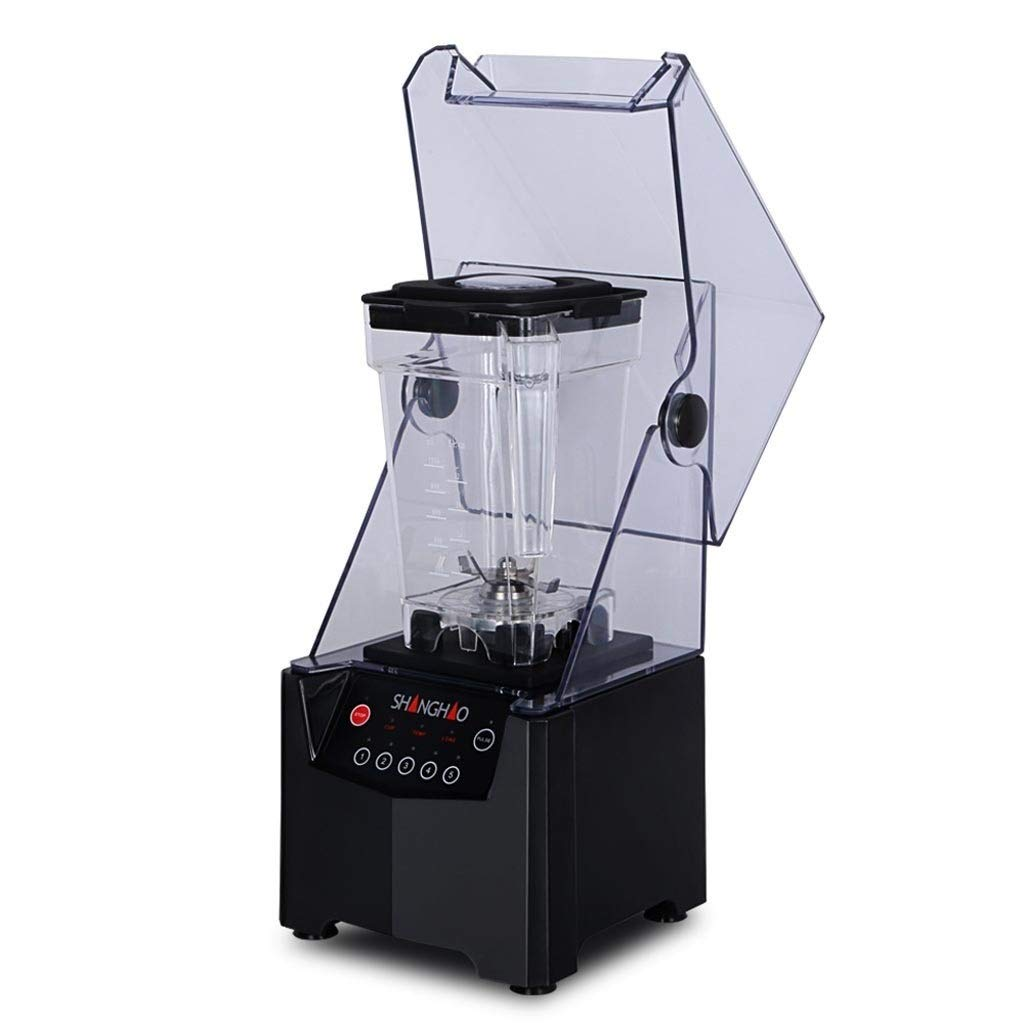 Ice Crusher - Electric Ice Crusher, Tea Shop Belt Cover Smoothie Ice Blender For Party Gathering Home by FEI JI