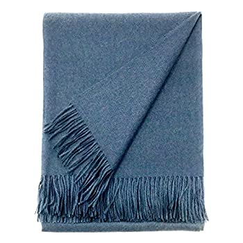 Image of Home and Kitchen Alpaca Home - Alpaca Cityscape Throw Blanket | 100% Pure Baby Alpaca Wool | Hypoallergenic, Soft & Cozy Bedding, One Size (Athens)