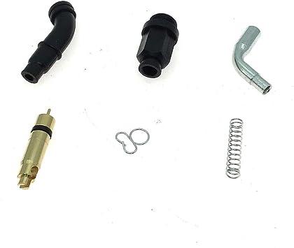 Carburetor Choke Cable /& Plunger Choke Starter Valve Kit Replace OE 17950-HN0-A12 16046-HM5-730 Standard Size Compatible with 2000-2006 Honda Rancher 350 TRX
