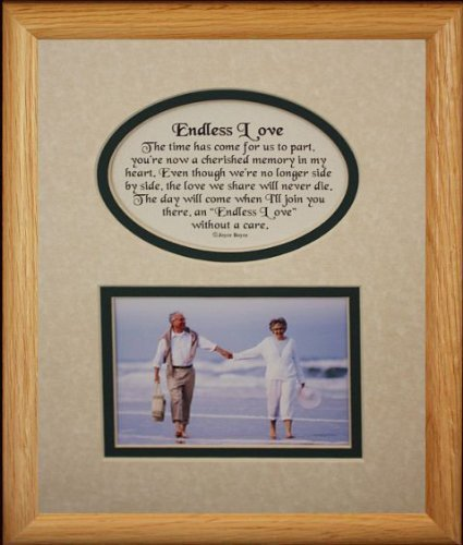 Amazon.com: 8x10 ENDLESS LOVE Picture & Poetry Photo Gift Frame ...
