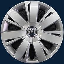 Genuine Wheel Center Hub Cap Chrome Black For VW Jetta Mk6 11- 5C0601147AQLV