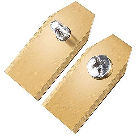Cuchillo de cuchilla para cortacésped de acero inoxidable con ...