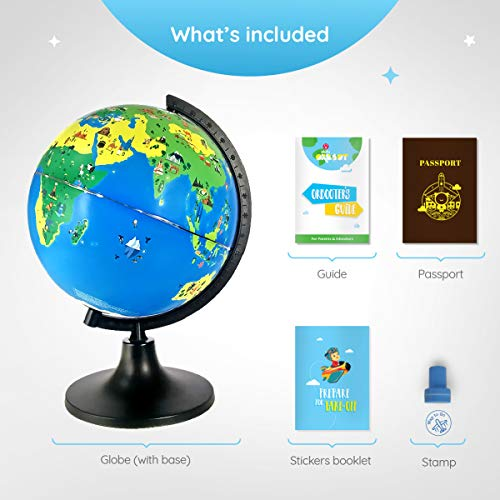 Shifu Orboot (App Based): The Educational, Augmented Reality Based Globe | STEM Toy for Boys & Girls Age 4 to 10 Years | Learning Toy Gift for Kids (No Borders and No Names on Globe) by Shifu (Image #5)