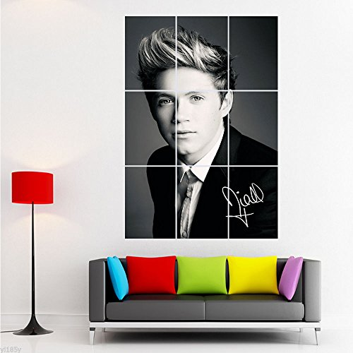 Bingirl Giant Poster Huge Print One Direction Niall Horan Art Deco