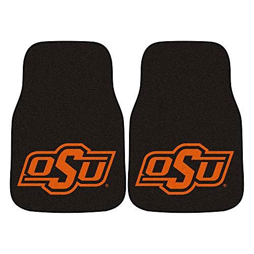 FANMATS NCAA Oklahoma State University Cowboys Nylon Face Carpet Car Mat