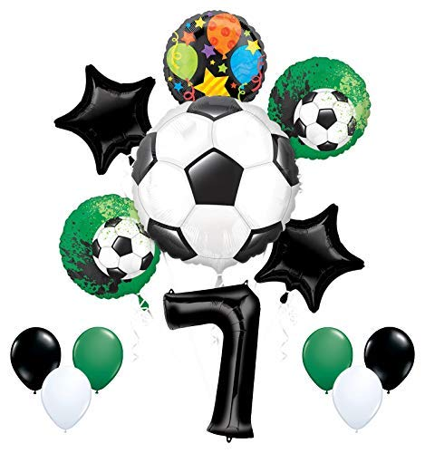 Mayflower Products Suministros de Fiesta de fútbol 7º cumpleaños ...