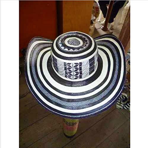 Coastal Sombrero Hat - Colombian Hat Sombrero Sinuano 21 Vueltas Made By Colombian Artisans Highest Quality