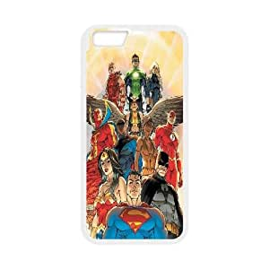 iPhone 6 4.7 Inch Cell Phone Case White Justice League of America 3 JNR2108025