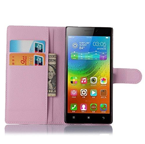 Funda Lenovo Vibe X2 Pro,Manyip Caja del teléfono del cuero,Protector de Pantalla de Slim Case Estilo Billetera con Ranuras para Tarjetas, Soporte Plegable, Cierre Magnético G