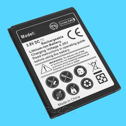Amazon com: High Capacity 2100mAh Standard Extra Battery for