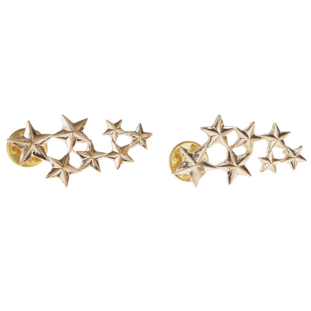 Boho Victoria Maple Leaf Brooch Pin Wedding Xmas Gift Gold
