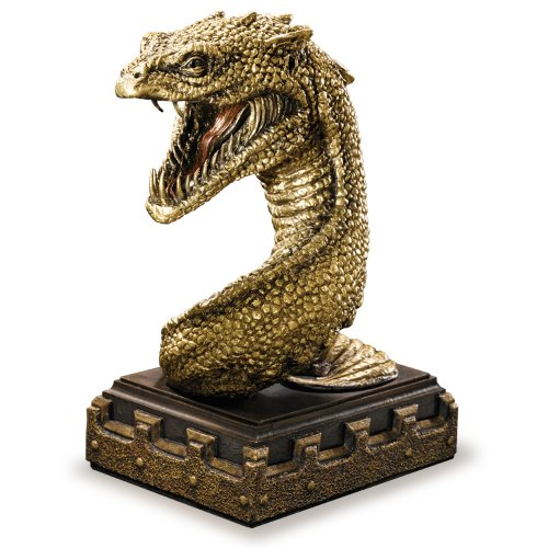 Harry Potter Chamber Of Secrets Basilik Bookend