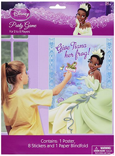 Amscan Princess and The Frog Party Game Poster