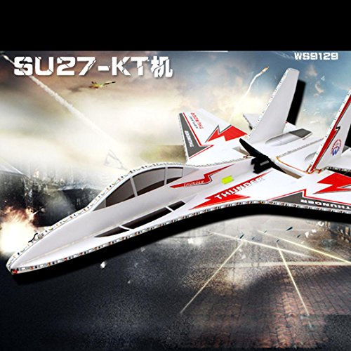 Bekia KT SU-27 Airplane/Jet + 6CH RC Fighter Foam Glider Kits