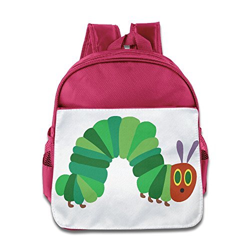 Price comparison product image Custom The Very Hungry Insect Children School Bag For 1-6 Years Old Pink