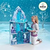 KIDKRAFT Disney Frozen Princess Elsa's Ice Castle Dollhouse