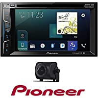 Pioneer 6.2 2 DIN DVD Bluetooth Apple Car play+ Universal Rear-View Camera