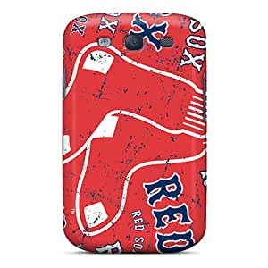 Shockproof Hard Phone Cover For Galaxy S3 (hYI18563CJCJ) Provide Private Custom Nice Boston Red Sox Pictures