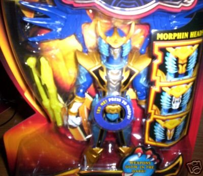 Power Rangers Mystic Morph Blue Solaris Knight -