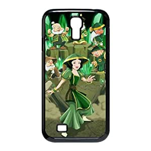Disney Snow White And The Seven Dwarfs Character Samsung Galaxy S4 90 Cell Phone Case Black TPU Phone Case SV_134934