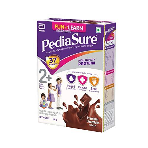PediaSure Health and Nutrition Drink Powder for Kids Growth - 400g (Premium Chocolate) 4