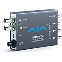 AJA HD10MD4 HD Down-Converter, 10-bit, HD-SDI/SDI to SDI, YPbPr/RGB/NTSC/PAL (HD10MD4)