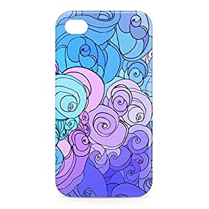 Clouds iPhone 4s 3D wrap around Case - Design 5