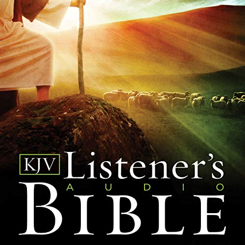 Listener's Audio Bible - King James Version, KJV: Complete Bible: Vocal Performance by Max McLean (The Bible The Complete Word Of God Abridged)