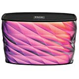 iHome iBT84 Portable Splashproof Color Changing 10 Hour Rechargeable Bluetooth Stereo Speaker with Speakerphone and Built-In Power Bank