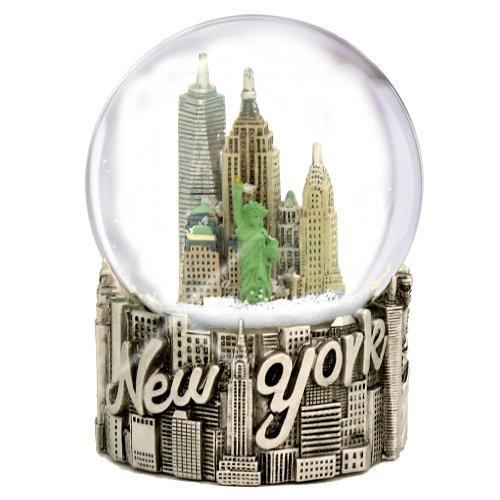 Skyline New York City Snow Globe (80mm Globe, 4.5 Inches ...