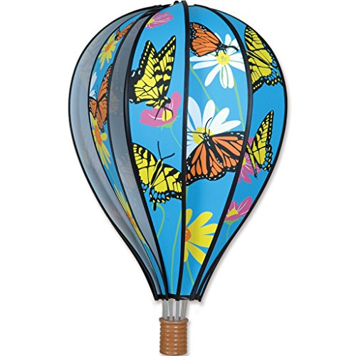 Premier Kites Hot Air Balloon 22 in. - Butterflies