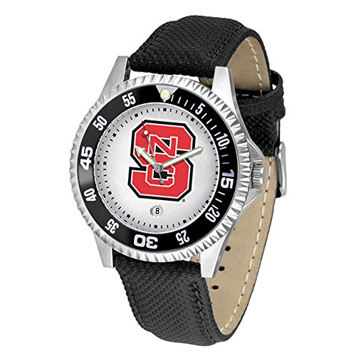 New Linkswalker Mens North Carolina State Wolfpack Competitor Watch -