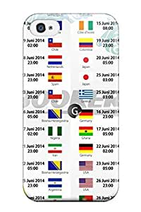Hot Tpu Cover Case For Iphone/ 4/4s Case Cover Skin - Fifa World Cup 2014 Schedules 8211 Fifa World Cup 2014
