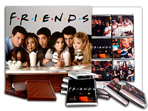 DA CHOCOLATE Souvenir Candy FRIENDS Chocolate Gift Set Famous TV series design 5x5in 1 box (Cocktails Prime)