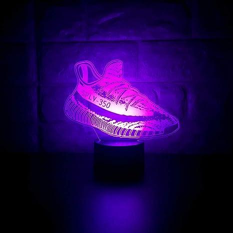 original led yeezys
