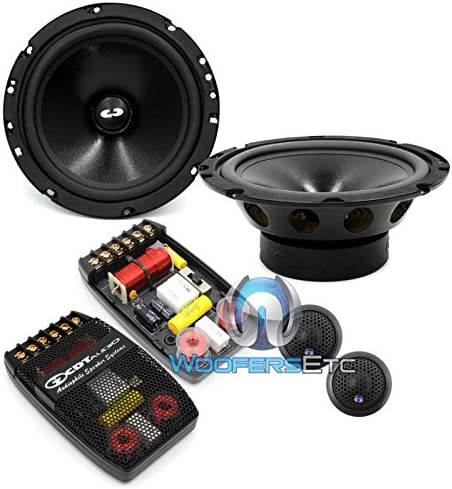 CL-61A.2-25 PRO CDT Audio Classic 2-Ohm 6.5 2-Way Component Speakers