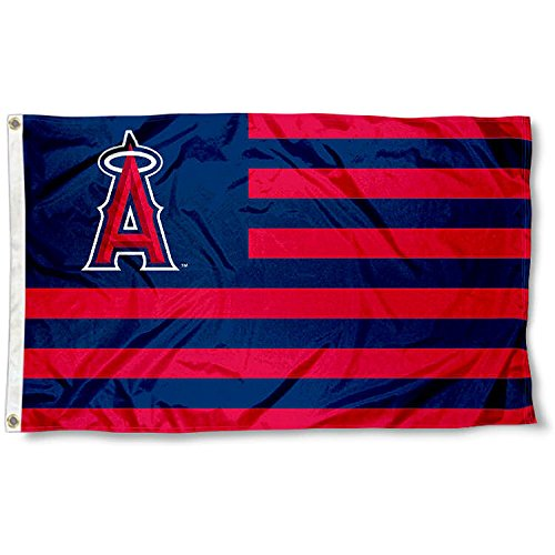 Angels Flag (Los Angeles Angels Stars and Stripes Nation 3x5 Flag)