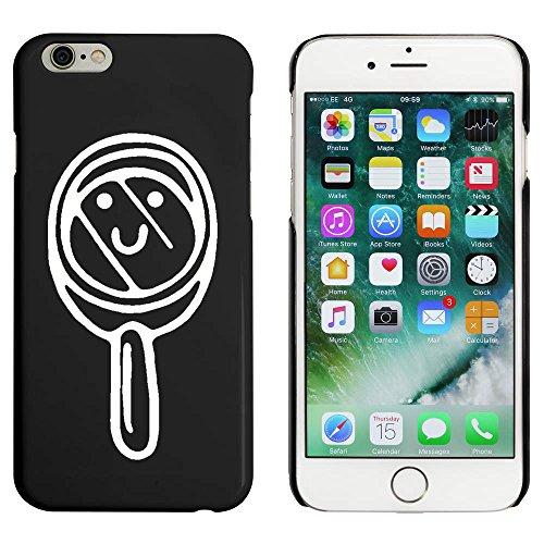 Schwarz 'Lupe' Hülle für iPhone 6 u. 6s (MC00088330)