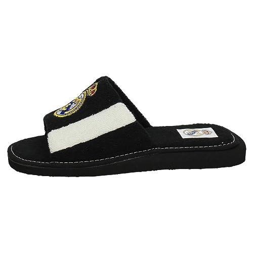 ANDINAS 591-90 Real Madrid Oficial Hombre Zapatillas CASA Blanco-Negro 47: Amazon.es: Zapatos y complementos